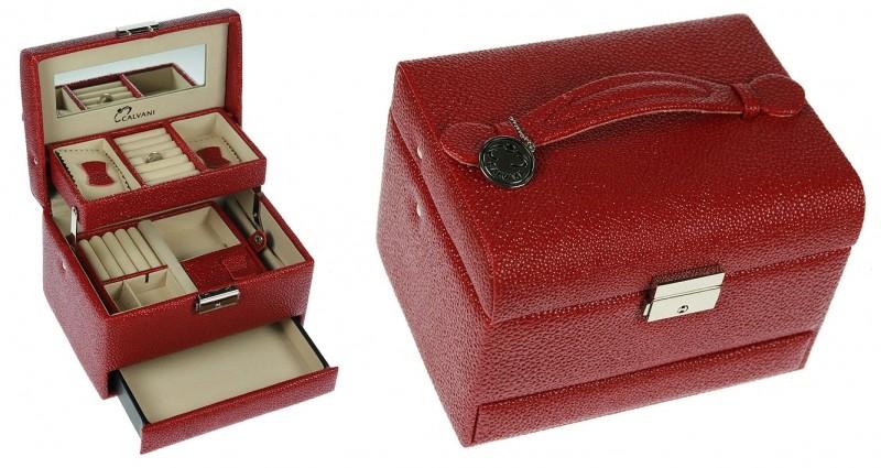 Шкатулка для ювелирных украшений Red spongy