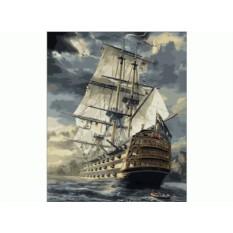 Картины по номерам - Menglei (Premium) - «Бригантина»