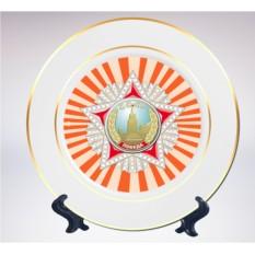 Сувенирная тарелка «Орден Победы»