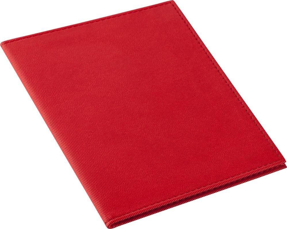 Красная обложка для паспорта Twill