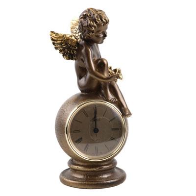 Часы «Ангел с птичкой»