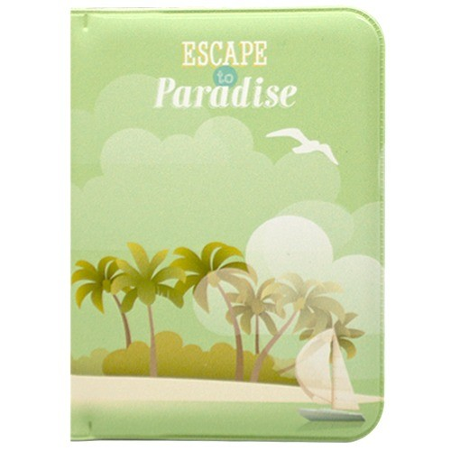 Обложка для паспорта Escape to Paradise