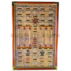 Панно Адмиральское (60x90 см, белый фон)