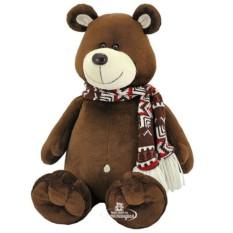 Мягкая игрушка Orange Toys Медведь Макар в шарфике
