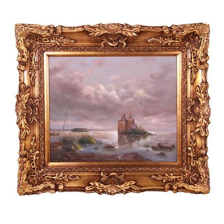 Картина «Дом у моря»