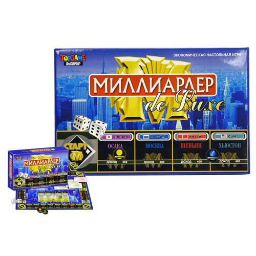 Настольная игра «Миллиардер»