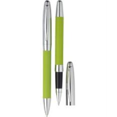 Набор из шариковой ручки и роллера «Рейн» в футляре