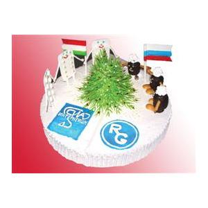 Корпоративный торт №5