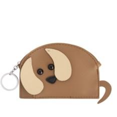 Кошелек-брелок Коричневая собака