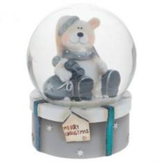 Снежный шар Белый мишка