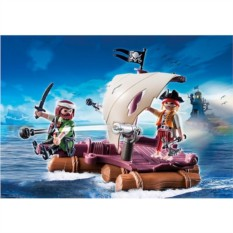 Конструктор Playmobil Pirates Пиратский плот