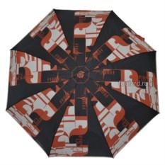 Черно-красный женский зонт Ferre Milano