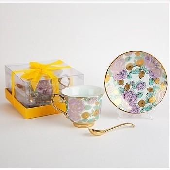 Набор чайный из 3 предметов Розовые розы