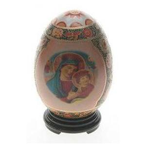 Фигурка декоративная Пасхальное яйцо 12 см