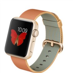 Apple Watch Sport 38mm with Woven Nylon (цвет Gold/Red)