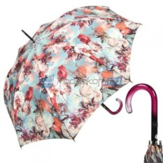 Зонт-трость Синие цветы от Jean Paul Gaultier