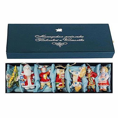 Набор ёлочных игрушек № 5 в подарочной коробке