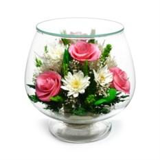 Композиция Natural Flower Products в подарочной упаковке