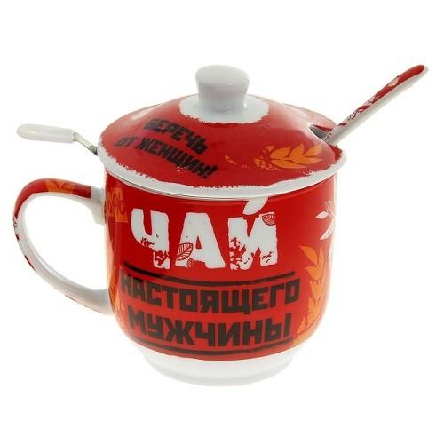 Набор для чая Только для мужчин