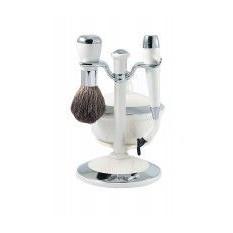Набор для бритья, 3 предм., белый