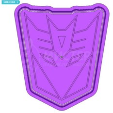 Форма для печенья Transformers Десептиконы
