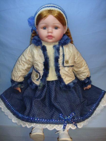 Озвученная кукла Варя