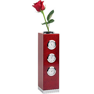 Погодная станция  с вазой для цветов