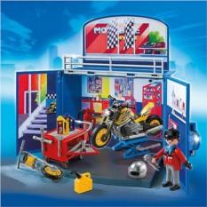 Конструктор Playmobil Sports Мастерская мотоциклов
