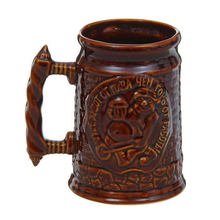 Кружка для пива Башня
