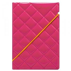 Обложка для паспорта Quilted Hot pink