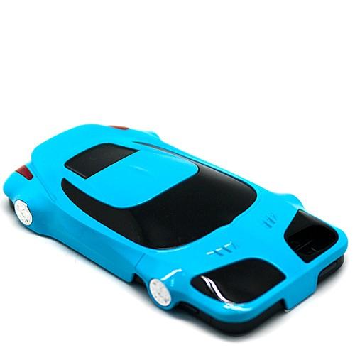 Чехол для iPhone 5/5S Lamborghini (голубой)