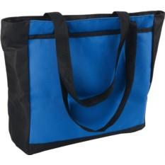 Синяя сумка для покупок