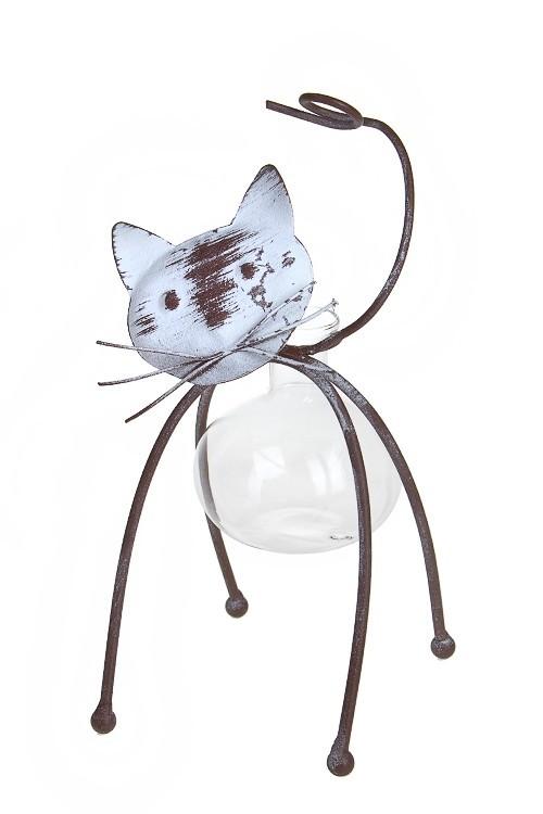 Ваза для цветов Загадочный котик