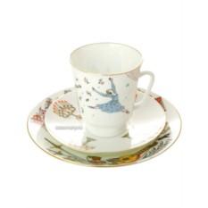 Фарфоровая кофейная чашка с блюдцем Ромео и Джульетта