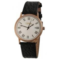 Мужские наручные часы Слава С053/1005 с золотым корпусом