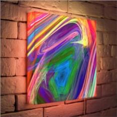 Дизайнерский 3D-светильник «Абстракция»