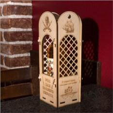 Коробка Для бутылки рома бравого пирата
