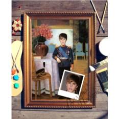 Портрет по фото Маленький принц