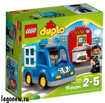 Конструктор Lego Duplo Полицейский патруль