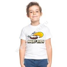 Детская футболка Могучий Орел из Angry birds