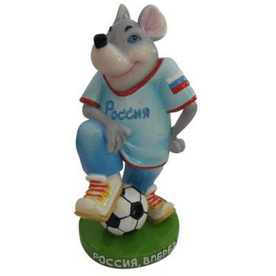 Мышь-футболист:«Россия, вперед!»