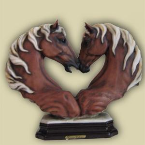 Статуэтка «Две лошади»