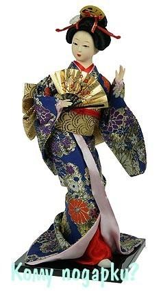 Статуэтка «Японская кукла»