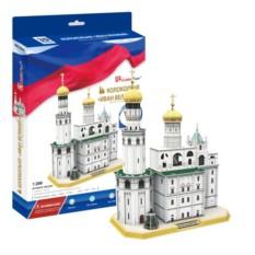 3D пазл Cubic Fun Колокольня Ивана Великого (Россия)