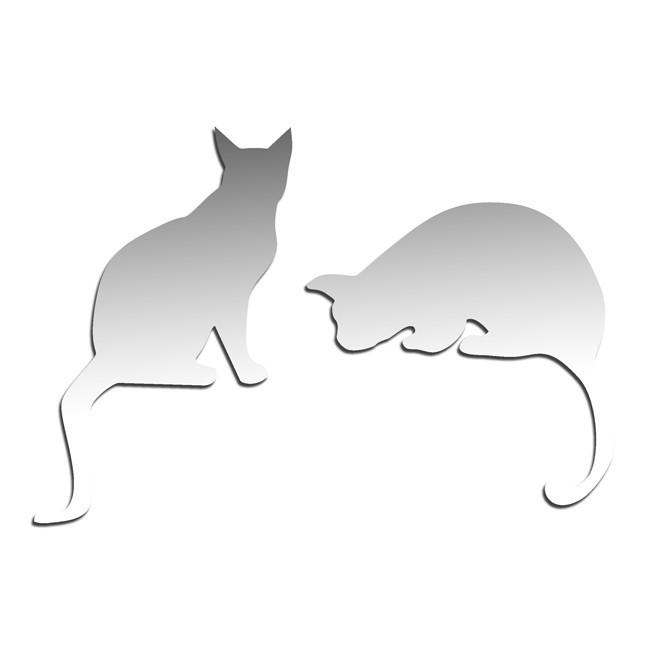Зеркало Две кошки