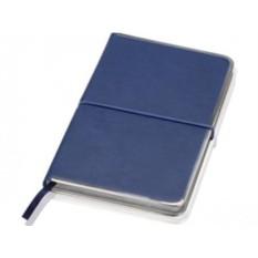 Блокнот Lettertone модель Silver Rim (цвет — синий)
