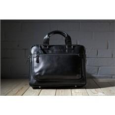 Деловая черная сумка Brialdi York