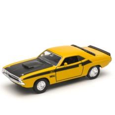 Модель винтажной машины Welly 1:34-39 Dodge Challenger 1970