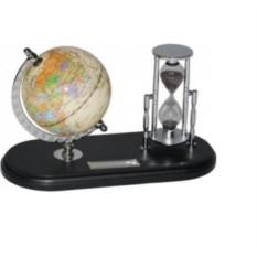Настольный прибор с глобусом «Время и мы»