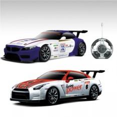 Радиоуправляемый конструктор-автомобили BMW и Nissan